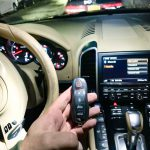 Porsche car key programming