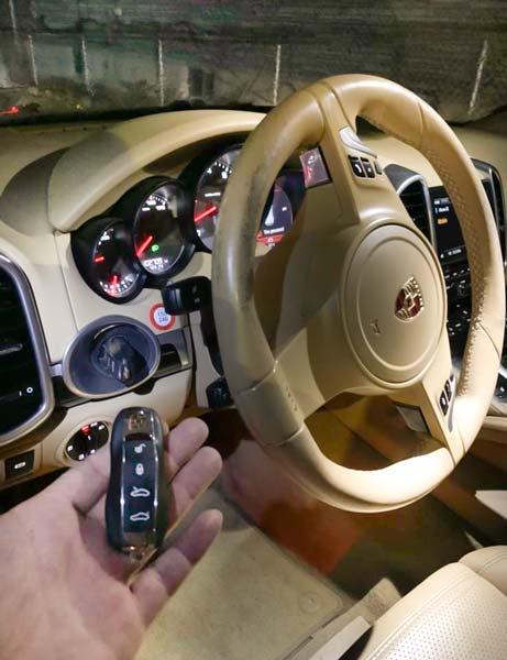 Porsche remote