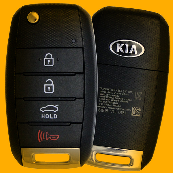Kia car key remote programming